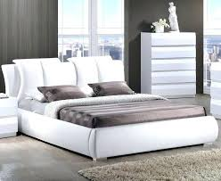White Bed Frame With Headboard Bohemian Headboard Tufted Bed Frame ...