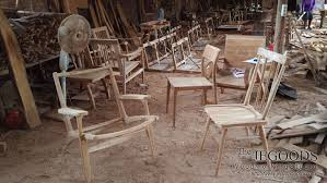 teak woodworking studio furniture retro scandinavia minimalist furniture indonesia jepara craftsman