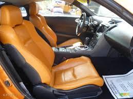 Burnt Orange/Carbon Black Interior 2003 Nissan 350Z Touring Coupe ...