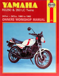 yamaha rd250 rd350 lc twins 1980 1982 new haynes work manual service repair