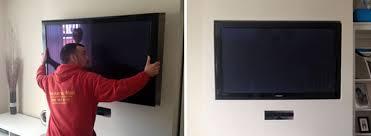 wall mounting bristol television
