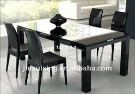 medium size of oslo black high gloss round stowaway dining table with and white chairs uk