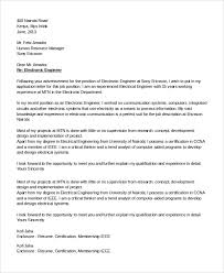Computer Engineering Cover Letters Computer Engineering Resume Cover Letter Electrical