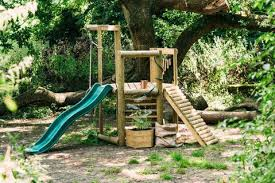 Plum Discovery Woodland Treehouse Swing and Play