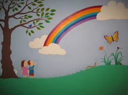 Paint For Kids Bedroom Rainbow Bedroom Ideas Crafty Little People Our Beautiful