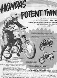 vintage honda motorcycle ads. initially the british and american motorcycle companies didnu0027t consider little hondas much of a threat had they looked closer might have vintage honda ads