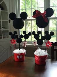 70 inspirações de festas infantis do mickey mouse dicas da a mickey minnie centerpiecesbirthday party centerpiecesdiy mickey decorationsbirthday