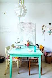 Colorful Dining Room Tables Cool Decoration