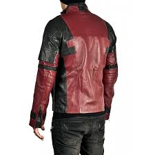 ryan reynolds deadpool leather jacket
