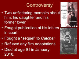 Dream Catcher A Memoir The Catcher in the Rye By JD Salinger ppt video online download 37