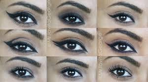 10 diffe eyeliner looks using only kohl pencil