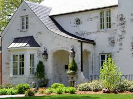 Charming The White Wash On This Brick Home Makes It Unique And Gives It Additional  Character.