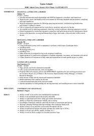 general laborer resume skills landscape laborer resume samples velvet jobs construction