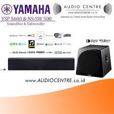 Audio Centre - Yamaha YSP 5600 & NS-SW 500 Soundbar Subwoofer - Home  Theater System Package