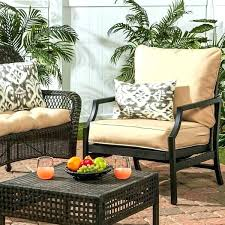 24x24 outdoor seat cushions deep outdoor chair cushions seat back and cushion set patio deep outdoor