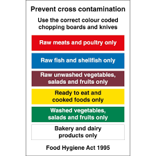 Cross Contamination Prevent Cross Contamination Signs From Key Signs Uk