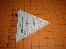 58 best Quilt Rulers images on Pinterest | Quilting rulers ... & 60 degree triangle quilt tip Adamdwight.com
