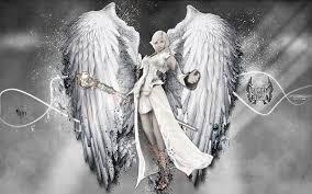 無料壁紙美しい天使のイラスト画像まとめ悪魔羽根大剣少女