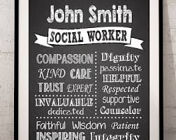 Social Worker Quote Etsy