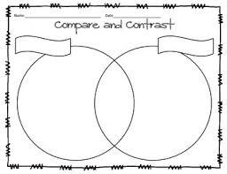 Compare And Contrast Venn Diagram Compare And Contrast Venn Diagram Freebie With Poster Tpt