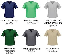 Scrub Color Chart Your Hospital Care Team Intermountain Healthcare