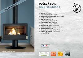 Poele A Bois Double Combustion Invicta