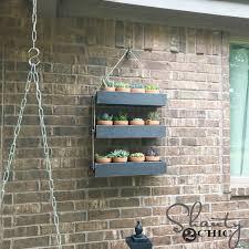 diy outdoor wall planter