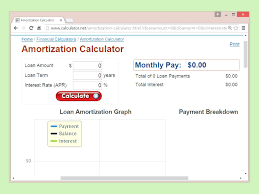 Mortgage Amortization Chart Excel Loan Amortization Calculator Excel Superpage Co