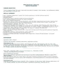 Sample Computer Programmer Resume Computer Programmer Resume Englishor Com
