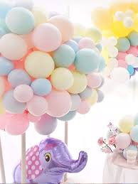 Buy <b>100Pcs Wedding</b> Balloons Stylish Simple Solid Color <b>Party</b> ...