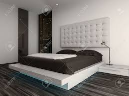 Nice Bedroom Nice Bedroom Interior With Modern Furniture And Cozy Bed Stock