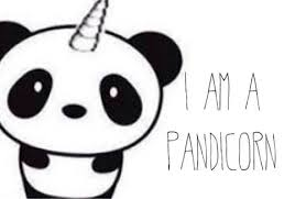 Pandicorn Salvataggi Rapidi Unicorn Kawaii Drawings E Cute Chibi