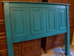 Making Cupboard Doors Headboard Re Purposed From Old Cabinets And New Material