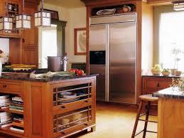 warm craftsman kitchen