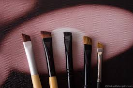 eyebrow powder brush. brushes 101: eyebrow brush \u0026 spoolie powder
