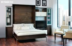 Wall Bed With Desk Vertical Wall Bed Desk By Expand Furniture Murphy