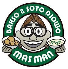 Logo Bakso Soto Djowo Mas Man Hiberdesign