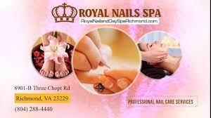 royal nails day spa promo video