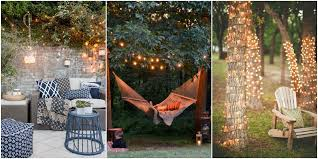 Ideas For Hanging Patio String Lights Ideas For Hanging Patio String Lights And Backyard Lighting