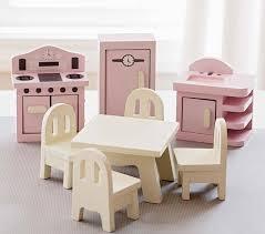 Kids dollhouse furniture Barbie Pottery Barn Kids Dollhouse Kitchen Set Pottery Barn Kids
