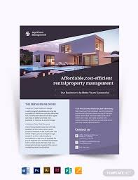 House For Rent Flyer Template Word Rental Management Flyer Template Word Psd Indesign