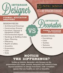 Difference Between Interior Designer And Interior Decorator