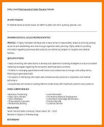 Pharmaceutical Sales Degree 7 8 Entry Level Sales Rep Resume Tablethreeten Com