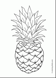 Small Picture astounding pineapple coloring page alphabrainsznet