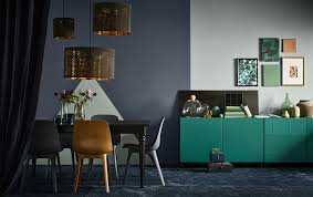 Dark Home Decor Tips For Lightness Too Adorable Ikea Dining Room Ideas Decor