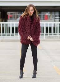 sydne style shows where to get faux fur coats on ping