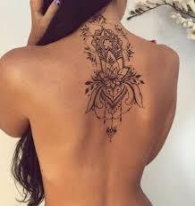 черно белое тату 100 модных идей и вариантов для девушек с фото