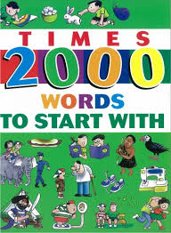 Times 2000 Words To Start With Five Senses Education