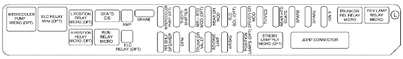cadillac sts mk second generation fuse box diagram cadillac sts mk2 fuse box rear compartment driver s side