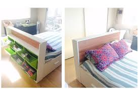 furniture for small bedrooms. brilliant furniture ikea trones headboard hack throughout furniture for small bedrooms e